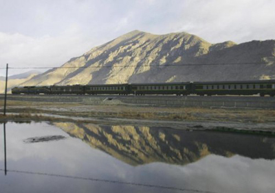 The Shangri-La Express (Tibet).