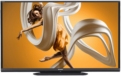 Sharp 90-inch Class AQUOS HD Series LED Smart TV.
