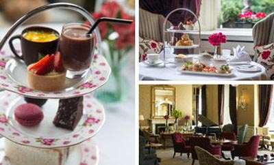 Afternoon Tea at Lord Mayor's Lounge at The Shelbourne, 27 St Stephen's Green, Dublin 2, Ireland.
