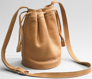 Shinola Drawstring Bag: US$275.