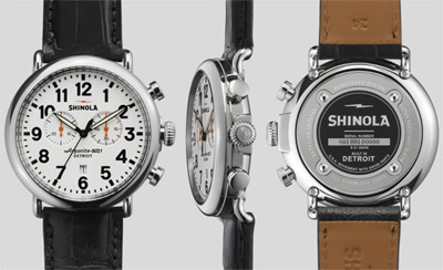 Shinola The Runwell Chrono 47mm: US$950.