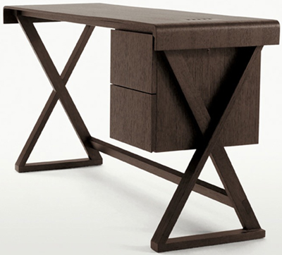 Sidus writing desk by Antonio Citterio for Maxalto.