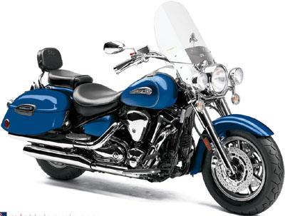 Yamaha Road Star Silverado S motorcycle.