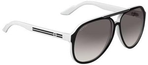 Gucci 1627/S Unisex Sunglasses Black and White: US$140.