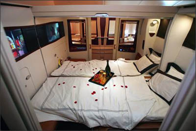 Singapore Airlines Suite - 'A world of your own'.