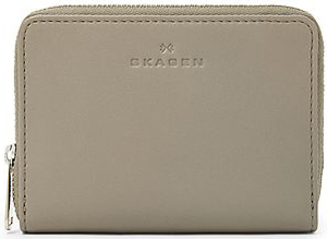 Skagen Women's Leather Zip Multi - Elephant Women's Wallet: US$65.