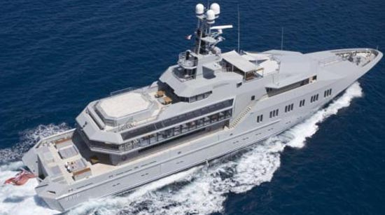 Skat - 233 ft / 71 m (owned by the Charles Simonyi).