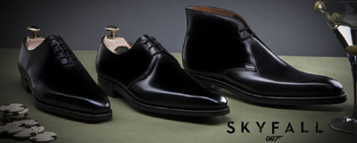 Crockett & Jones Skyfall Collection.