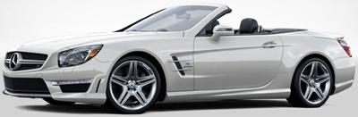Mercedes-Benz SL63 AMG.