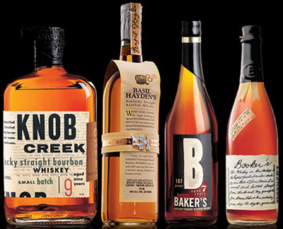 Small Batch Bourbon Collection by Jim Beam.