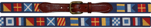 Smather & Branson Dark n' Stormy Needlepoint Belt: US$165.