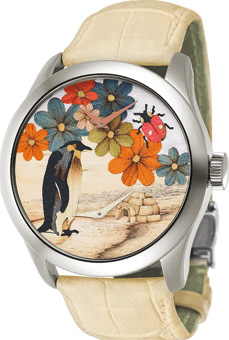 Saskia maaike Bouvier the Summer & Winter Time watch.