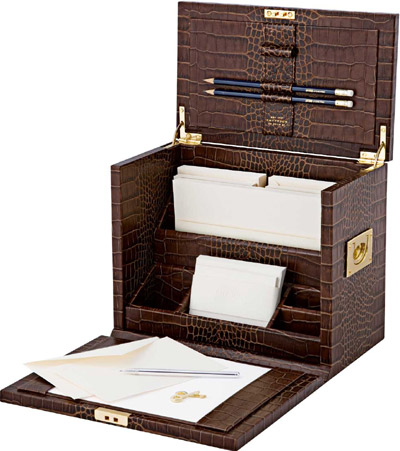 Smythson of Bond Street Stationary Bureau, Brown Mara Collection: £1,595.