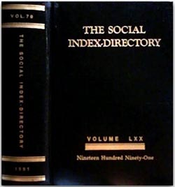 The Palm Beach Florida and Bahama's Social Index Directory Volume LXX (1991).
