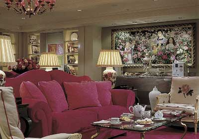 Afternoon Tea at Sofitel St James's Rose Lounge, 6 Waterloo Place, London SW1Y 4AN, England, U.K.