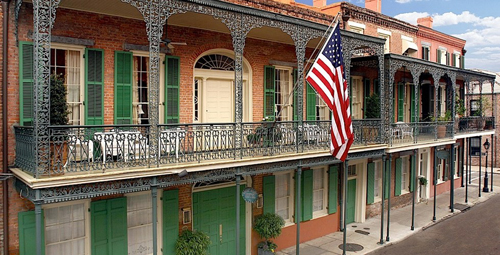Soniat House, 1133 Chartres St, New Orleans, LA 70116.