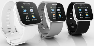 Sony Smartwatch.