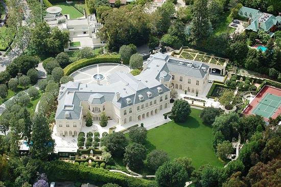 The (Spelling) Manor, 594 South Mapleton Drive, Holmby Hills, Los Angeles, CA 90024, U.S.A.