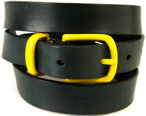 Oliver Spencer Coniston Belt French Navy Men's Belt: £48.