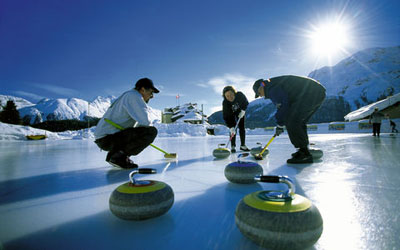St.Moritz Curling Club, Curling Center, Via Maistra 44.