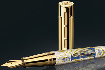 Staedtler Ludwig XIV fountain pen, limited edition.