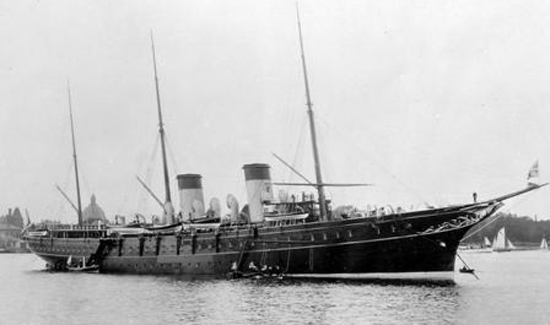 Russian Imperial Yacht Standart.