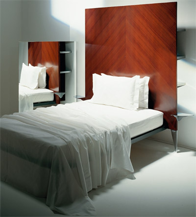 Philippe Starck Royalton bed.