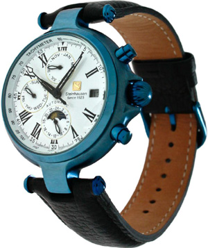 Steinhausen Classic Automatic Calendar Watch with Lifetime Warranty: US$700.