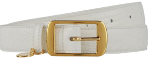 Stella McCartney Faux Alligator Belt: US$380.