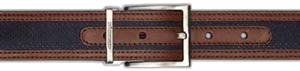 Stemar ISCHIA Black/Dark Brown Belt: US$215.