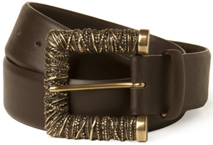 Paul Stewart Glazed Alligator Belt: US$159.88.