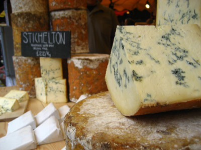 Stichelton cheese.