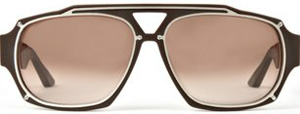 Stone Island Double Rim Sunglasses in Brown: £220.