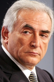 Dominique Strauss-Kahn.