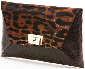 Stuart Weitzman Keep Me Clutch Handbag: US$650.