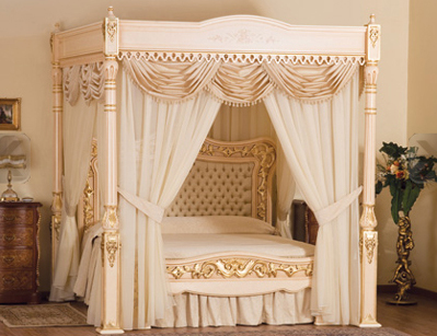 Baldacchino Supreme - The world's most exclusive bed.