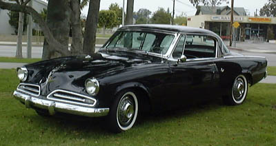 1953 Studebaker Commander Starliner.