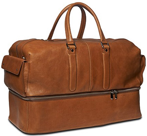 Suitsupply Light Brown Large Holdall: €399.