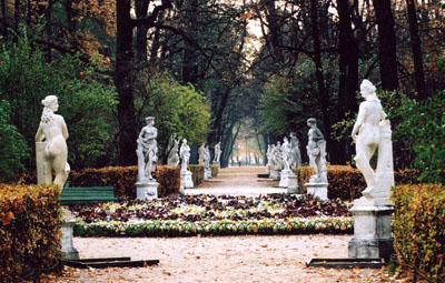 The Summer Garden, St. Petersburg, Russia.