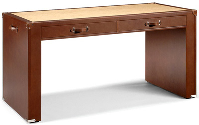 Swaine Adeney Brigg bespoke leather desk.