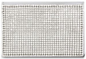 Swarovski Glam Silver Flap Card Holder: US$180.