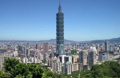 Taipei 101, Xinyi District, Taipei, Taiwan.