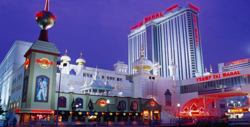 Trump Taj Mahal Casino Resort.