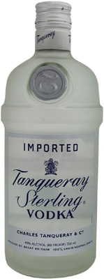 Tanqueray Sterling Vodka.
