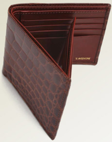 T.Anthony Alligator Side Flip ID Wallet: US$695.