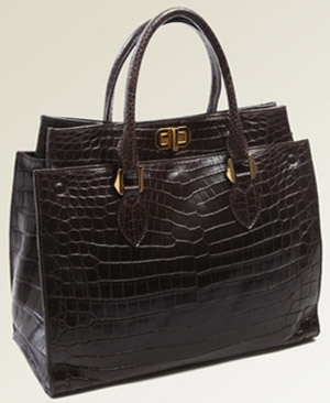 T.Anthony Alligator Luxury Tote: US$11.000.