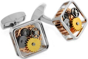 Tateossian RT Gear Cufflinks: €149.