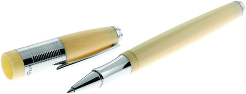 Tateossian Capetown Roller Ball Pen in Ivory Resin: €250.