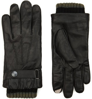 Ted Baker Smartea Leather Gloves: £65.