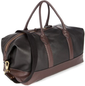 Ted Baker ToCarry Stab stitch holdall bag: £250.